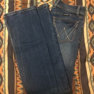 Boot Cut wrangler jeans